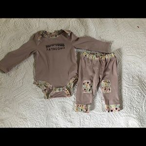Baby Patagonia outfit